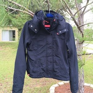 Hollister All Weather Hooded Jacket Size Small